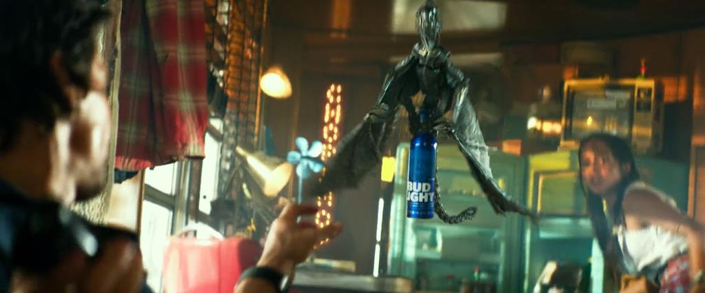 Transformers Product Placement - Marketing Psycho Bud Light