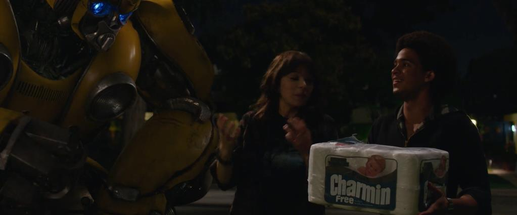 Transformers Product Placement - Marketing Psycho Charmin paper