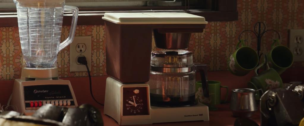 Transformers Product Placement - Marketing Psycho Hamilton Beach Coffee Maker and Oster kitchen blender
