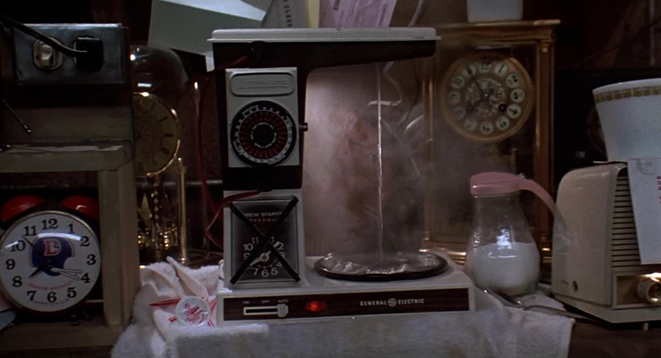 General Electric Coffee Maker Back to the future