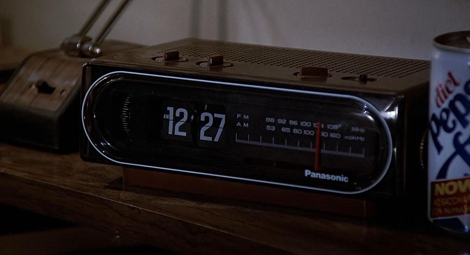 Panasonic Clock Radio Back to the Future