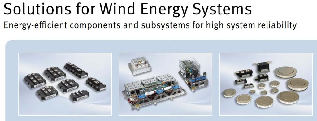 Infineon Power Semiconductors for Wind Power