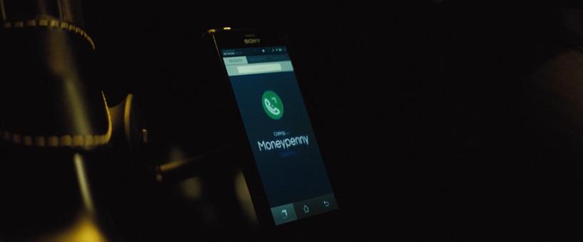 Sony smartphone James Bond Spectre