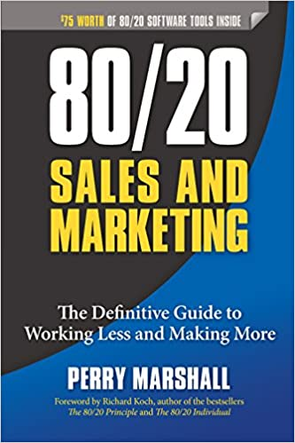 80_20 Sales and Marketing Book Cover
