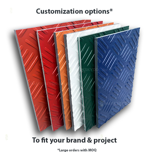 colored mats products page