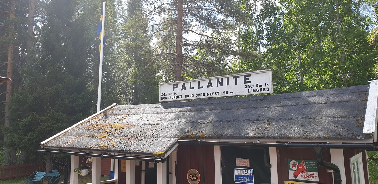 En bild på Pallanite tågstation