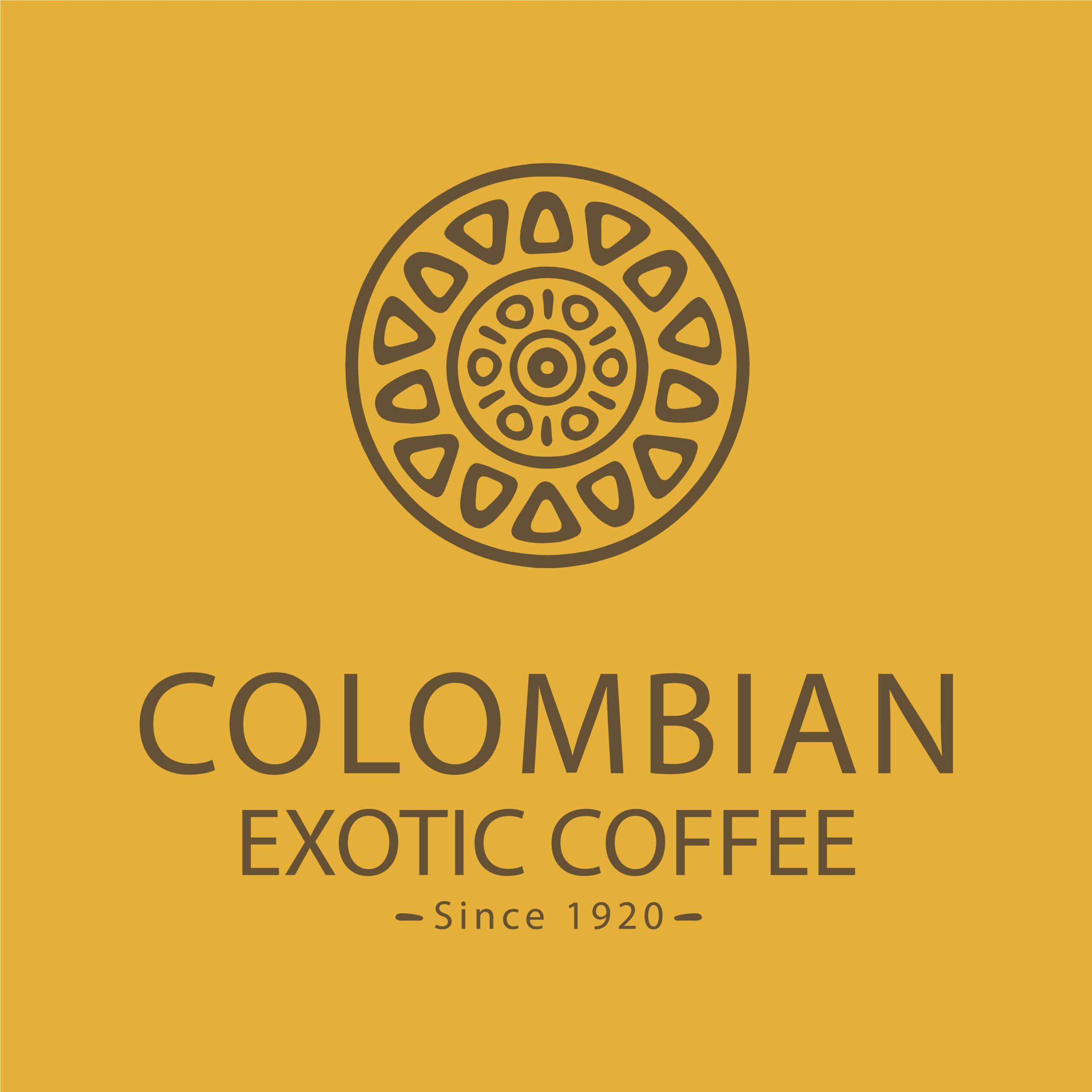 Colombian Exotic Coffee logo