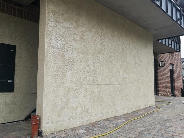 Fassade Sanierung Naturstein Optik Vechta 2021