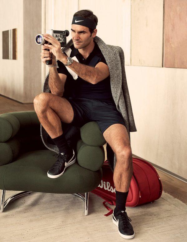 Hur gör man den perfekta servern? 73 frågor med Roger Federer