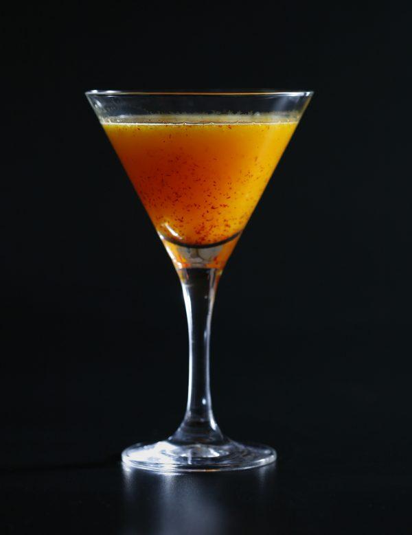 Saffran sour – så gör du julens godaste drink