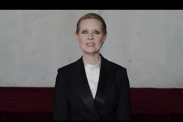 Be a lady they said – klippet med Cynthia Nixon alla borde se