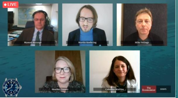 Moderating at the World Ocean Summit Virtual Week