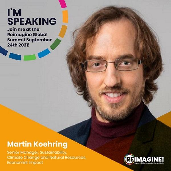 Speaking at Reimagine Global Summit