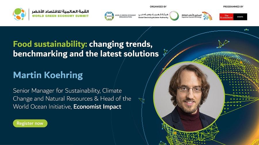 Speaking at World Green Economy Summit