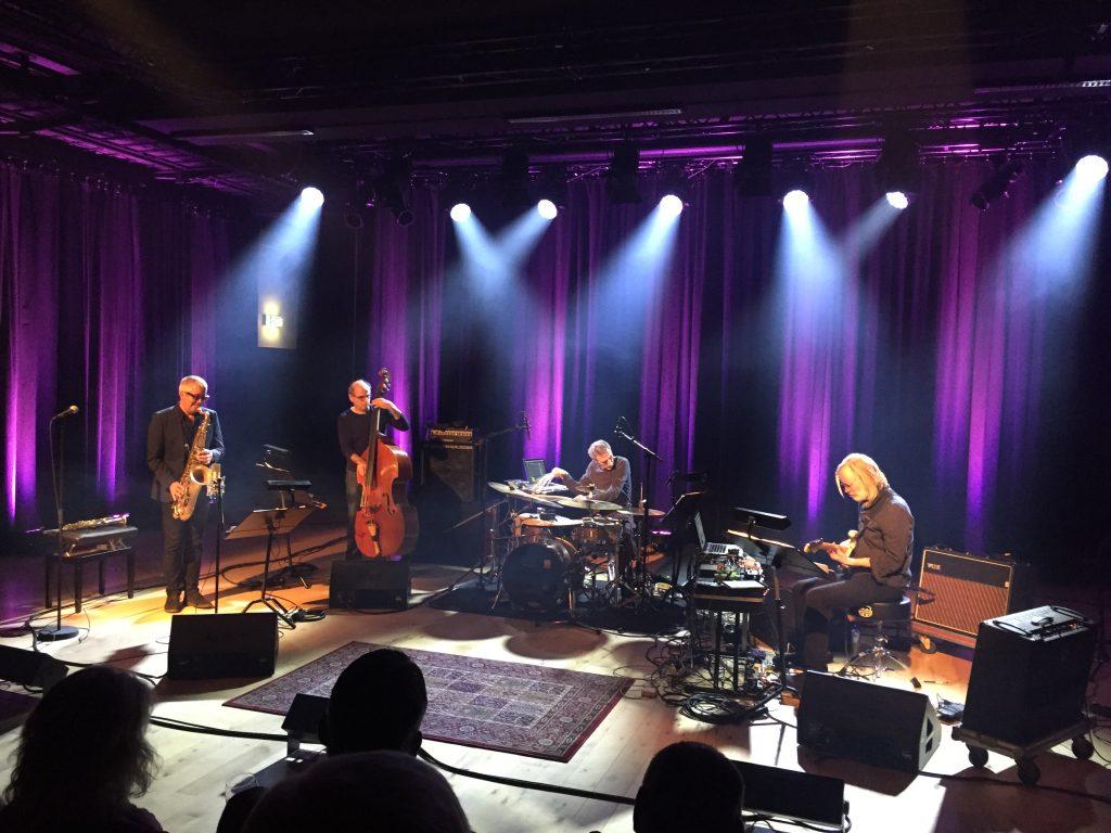 FLOTT KONSERT: Andy Sheppard Quartet i Bærum Kulturhus torsdag 18. februar 2016.