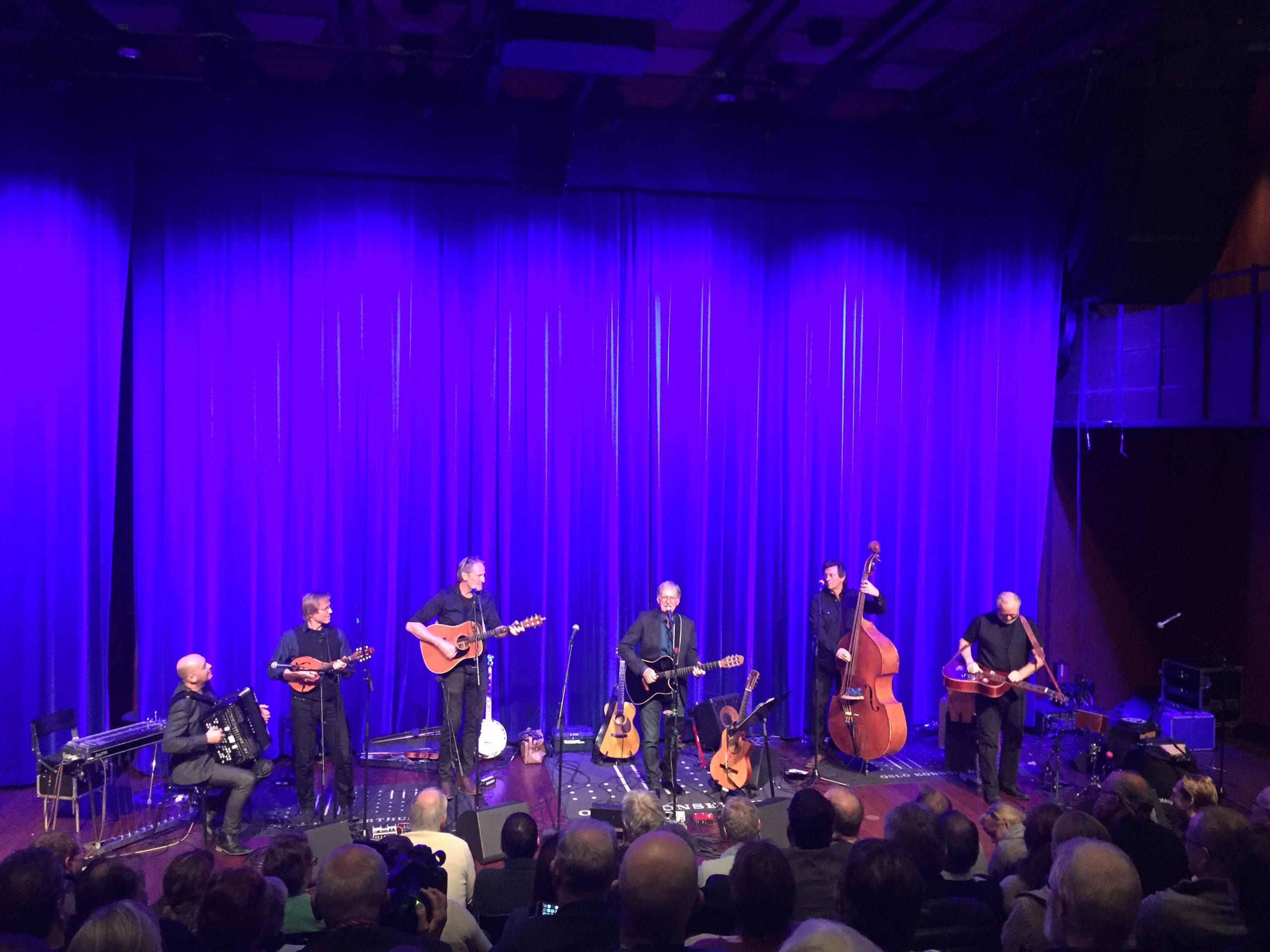 GOD KONSERT: Jeg har hørt på Øystein Sunde i 30 år. Han var god i Oslo Konserthus, men jeg har hørt ham bedre. Hyggelig var det. Foto: Martin Aasen Wright