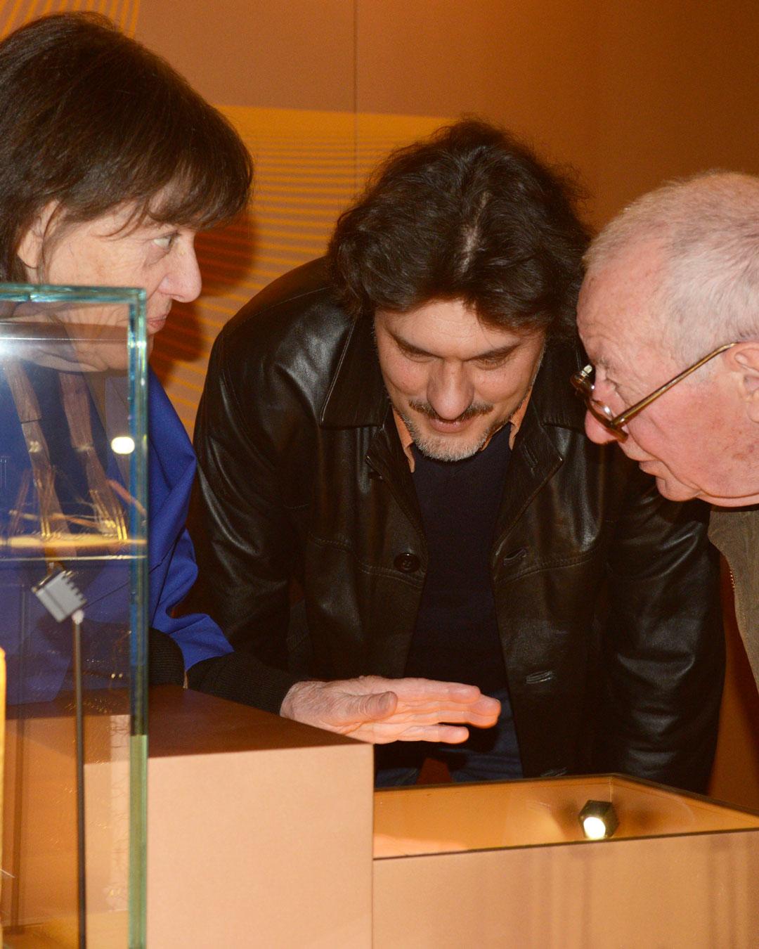 Marie-José van den Hout, Stefano Marchetti and Francesco Pavan