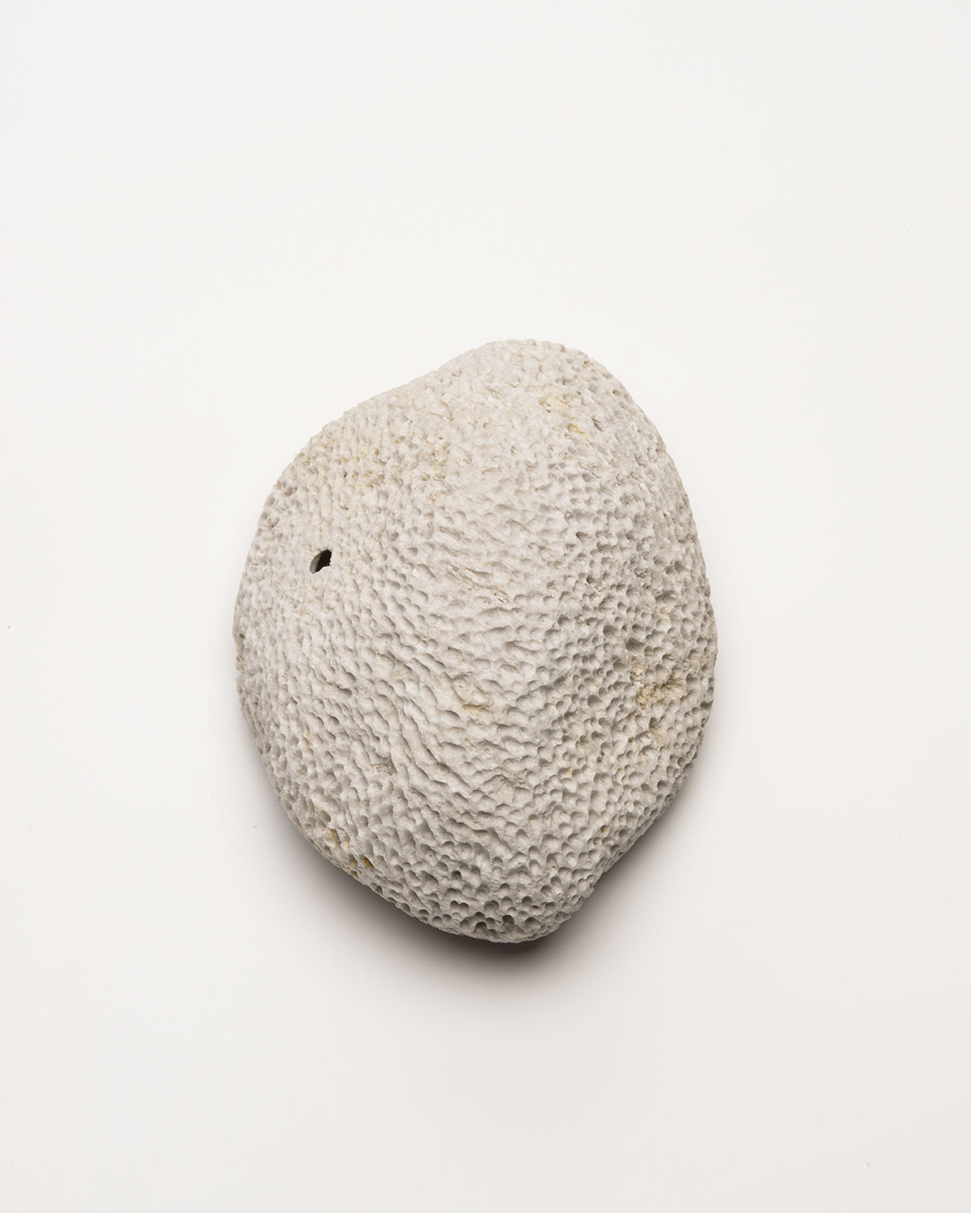 Vivi Touloumidi, What Will the Cosmos Say? 2013, brooch, pumice stone, steel, 100 x 70 x 50 mm, €280 (image: front)