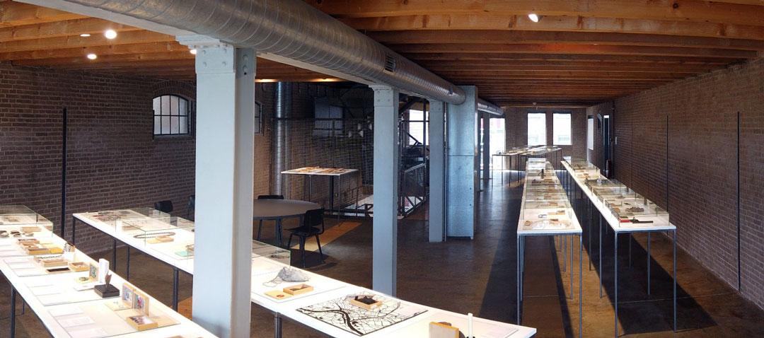 Eerste verdieping - tentoonstelling 40 jaar Galerie Marzee - Juni 2019