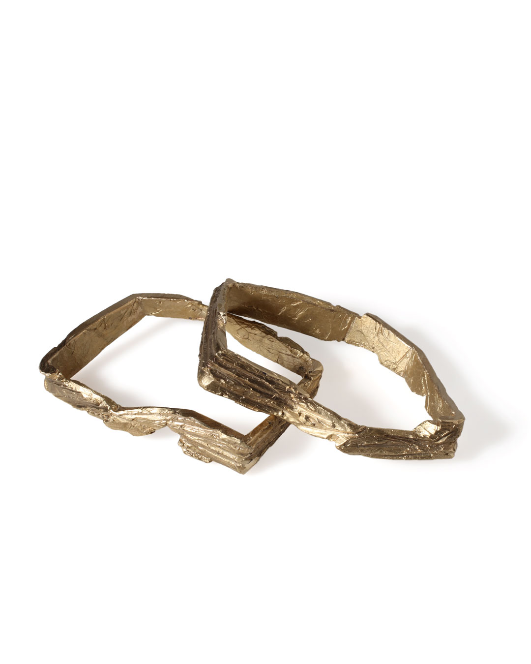 Juliane Brandes, untitled, 2013, bracelets; bronze, 90 x 70 x 20 mm, €680