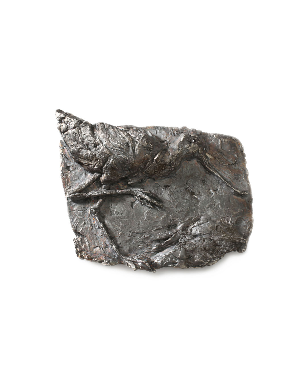 Juliane Brandes, untitled, 2013, brooch; silver, 65 x 50 mm, €1575