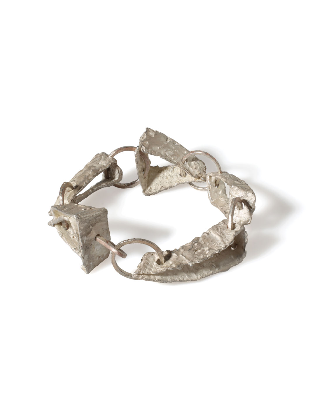 Juliane Brandes, untitled, 2013, bracelet; silver, copper, 23 x 30 x 15 mm, €2200