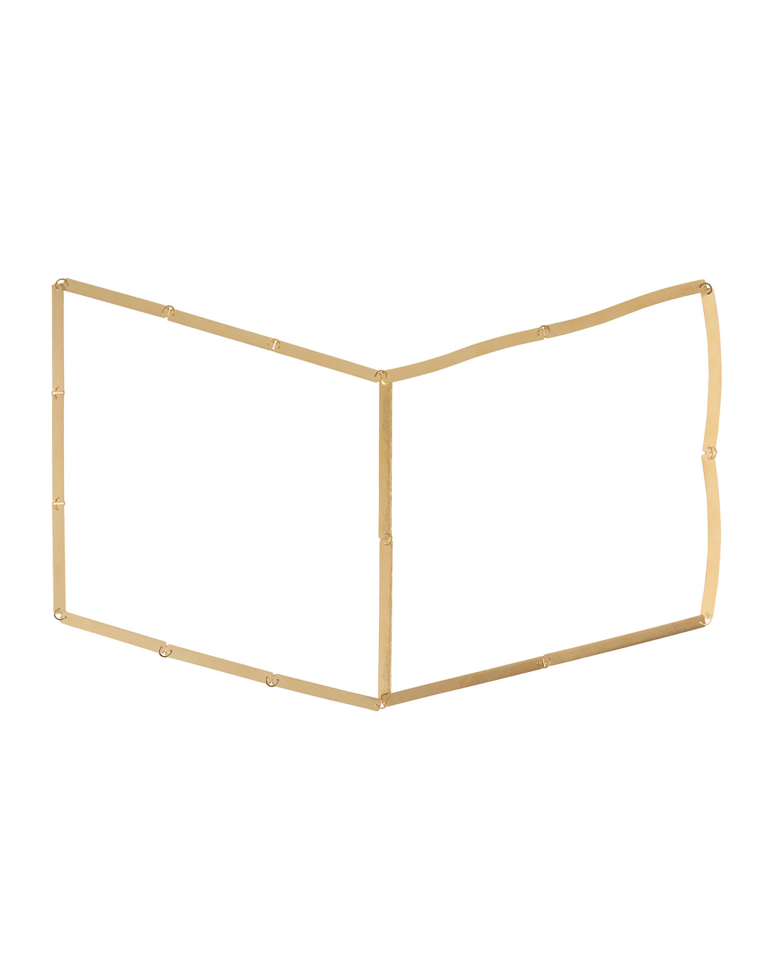 Annelies Planteijdt, Mooie stad – Collier en boek (Beautiful City - Necklace and Book) , 2017, necklace; gold, 360 x 240 mm, price on request (image 1/3)