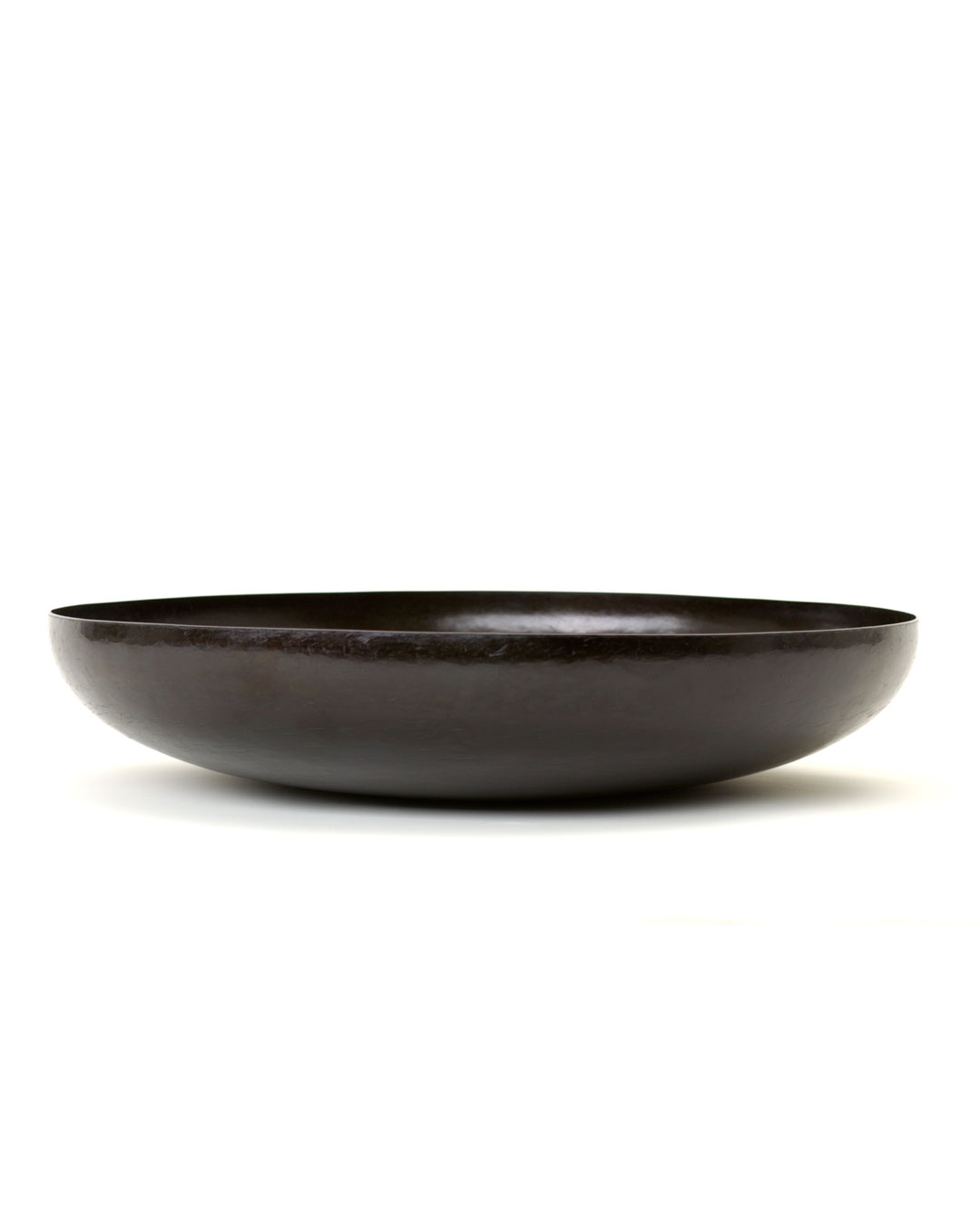 Tore Svensson, untitled, 2006, bowl; iron, 80 x ø 350 mm, €3500