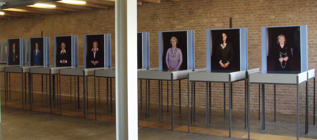 part of the exhibition Jewellery, the Choice of the Europarliament, 2004
