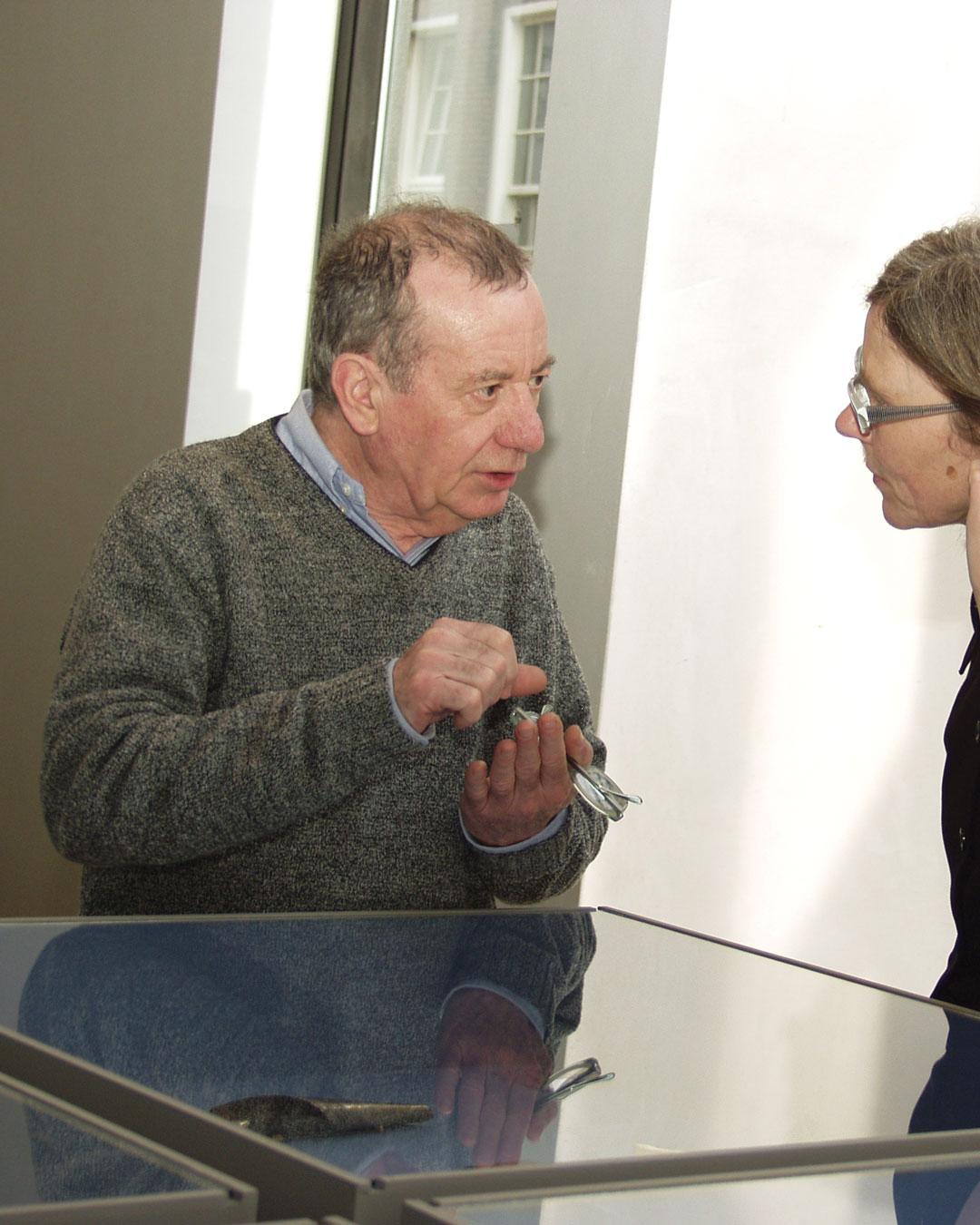 Francesco Pavan and Annelies Planteijdt, 2004