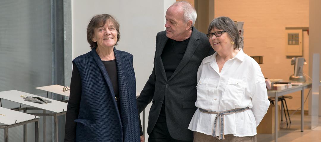 Marie-José van den Hout, Otto Künzli en Dorothea Prühl, 2017