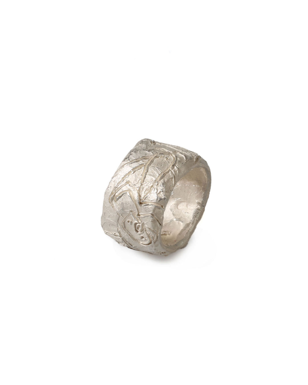 Juliane Brandes, untitled, 2014, ring; silver, 24 x 15 mm, €730