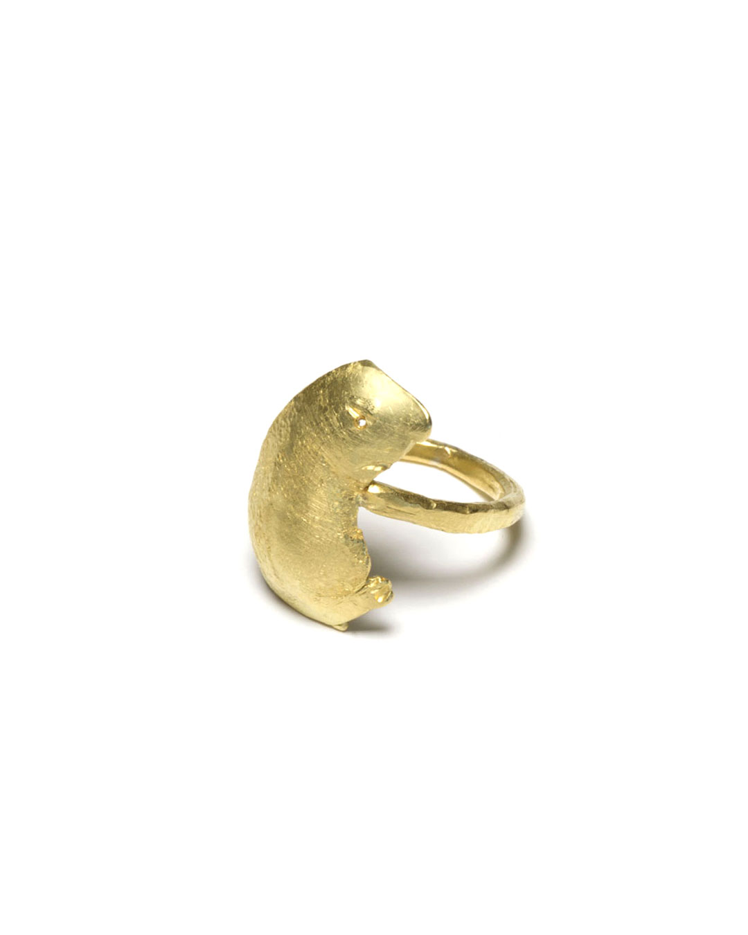 Juliane Brandes, untitled, 2016, ring; 18ct gold, 20 x 24 x 23 mm, €1700