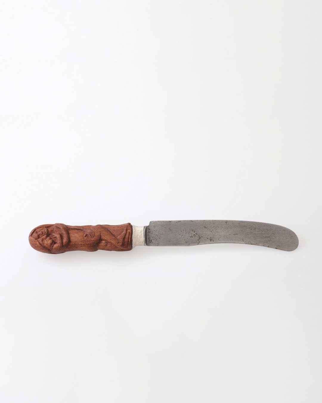 Juliane Brandes, untitled, 2017, knife; palisander wood, silver, steel (1880) blade, 220 x 25 mm, €2060