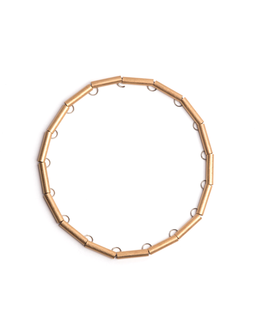 Herman Hermsen, Tube Chain, 1998, necklace; yellow gold, white gold, 435 x 8 x 6 mm, €6450