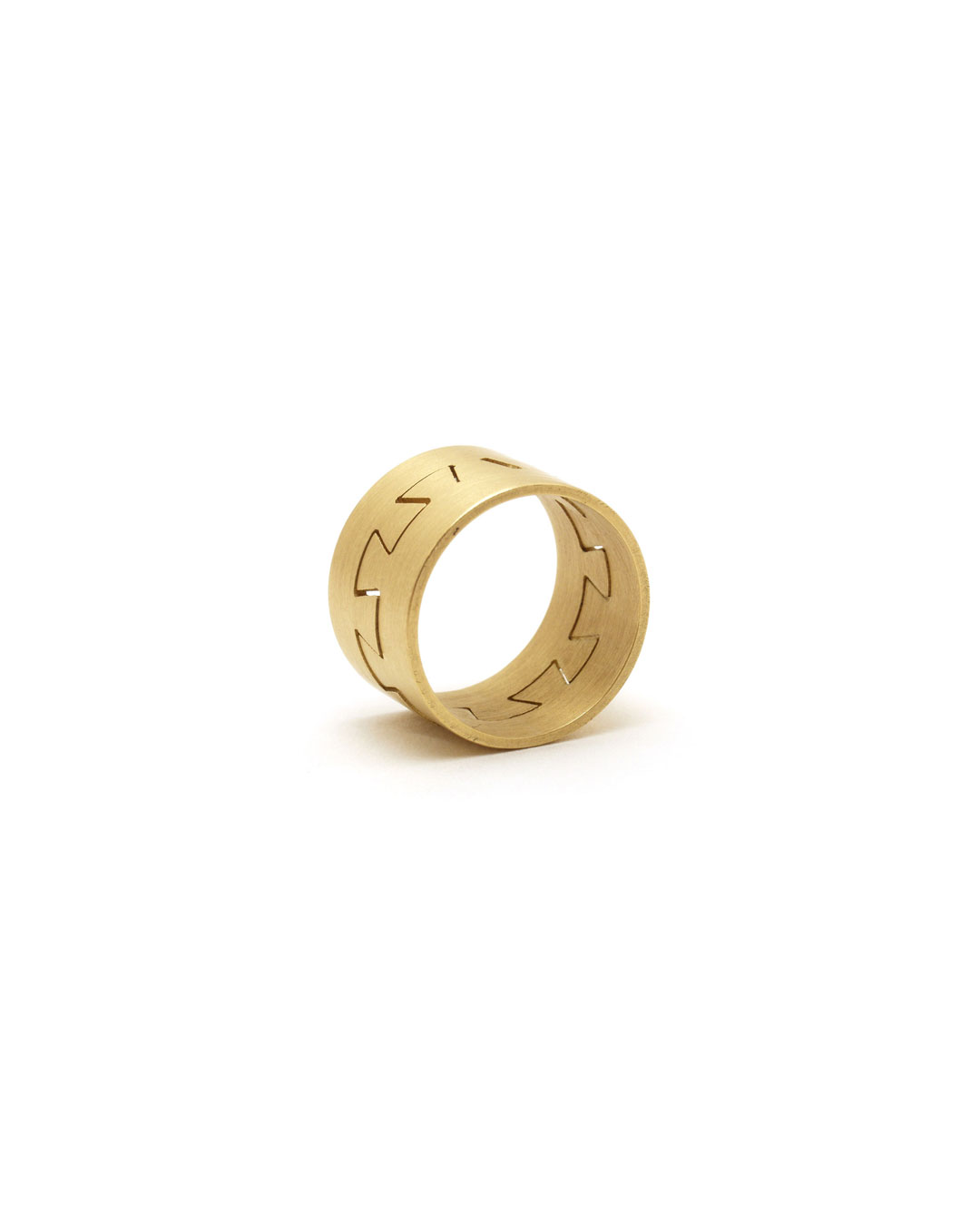 Herman Hermsen, Meanderring, 1995, ring; 18ct gold, ø 25 mm, €1250