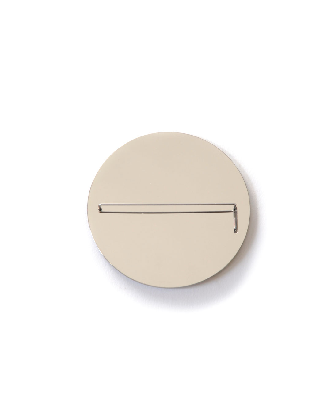 Junwon Jung, Pin and Mirror, 2015, brooch; steel, 65 x 65 mm, €610
