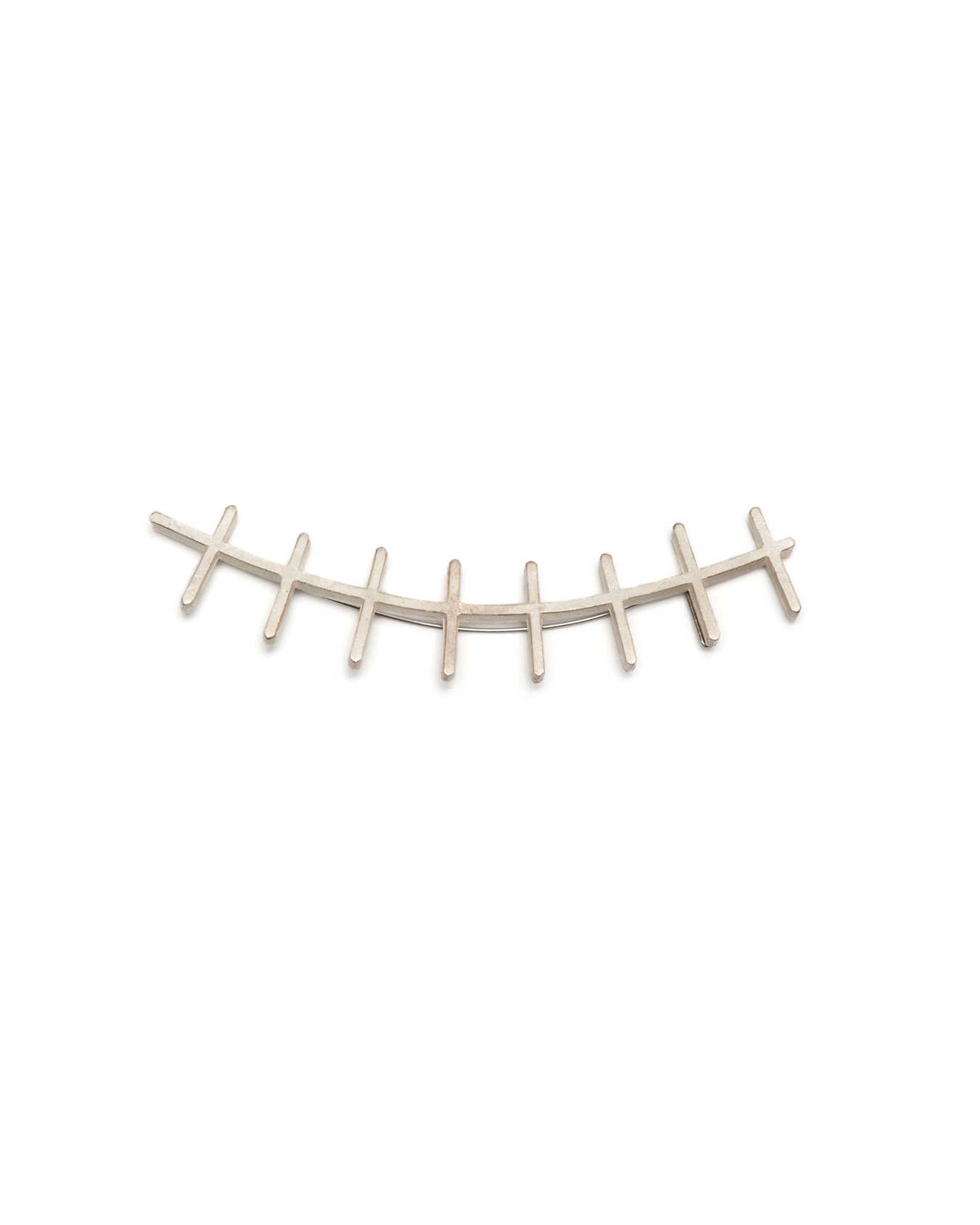 Winfried Krüger, untitled, 2003, brooch; silver, 105 x 20 mm, €875