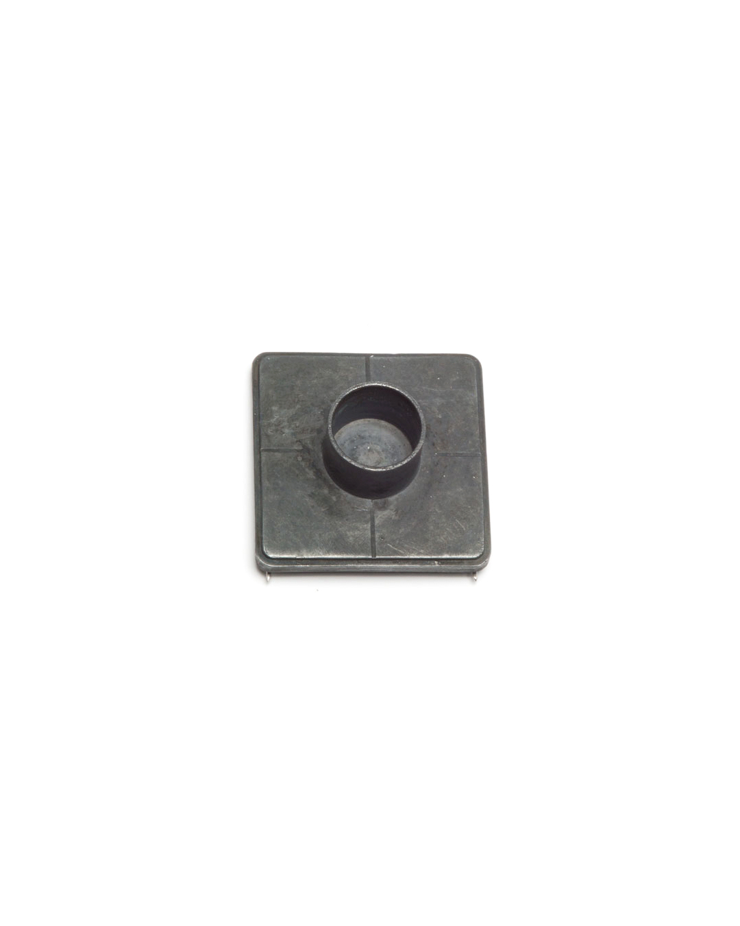 Winfried Krüger, untitled, 2007, brooch; oxidised silver, 40 x 40 x 13 mm, €920