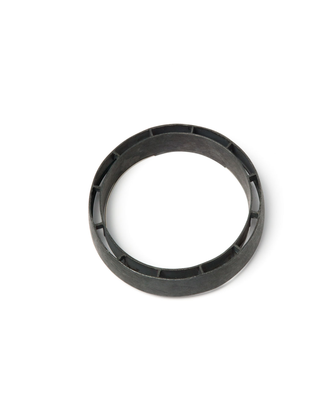 Winfried Krüger, untitled, 2008, brooch; oxidised silver, ø 80 mm, €1700