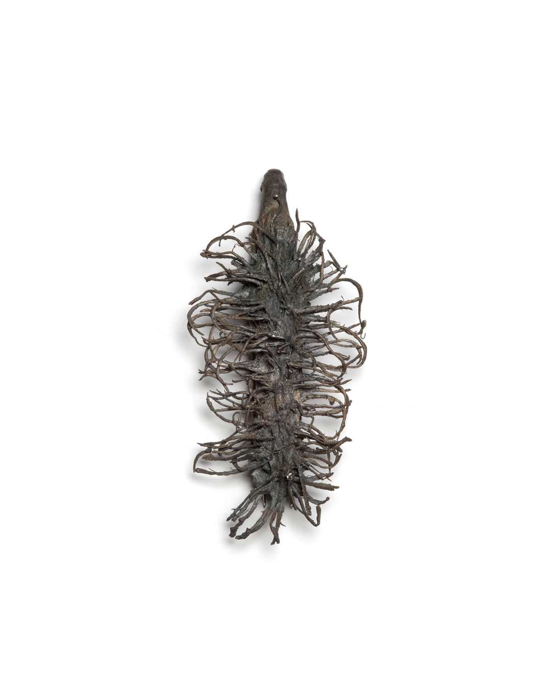 Winfried Krüger, untitled, 2001, brooch; oxidised silver, 120 x 50 mm, €970