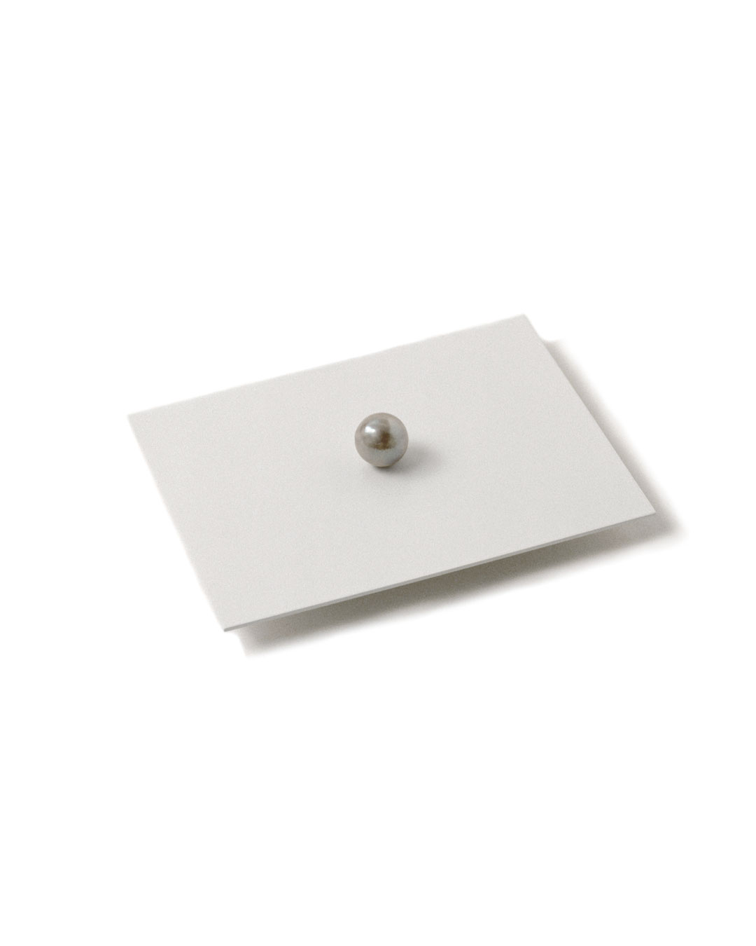 Otto Künzli, Ago Bay, 2009, brooch; pearl, silver, acrylic paint, stainless steel , 77 x 64 x 17 mm (edition 1), €5100