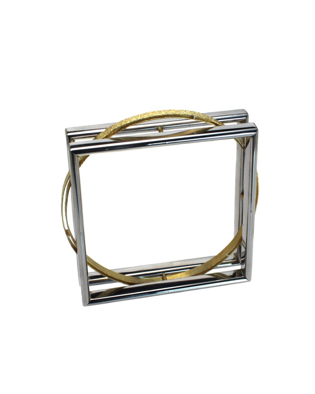 Okinari Kurokawa, untitled, 2014, bracelet, 20ct gold, stainless steel, 76 x 76 x 20 mm, €2950