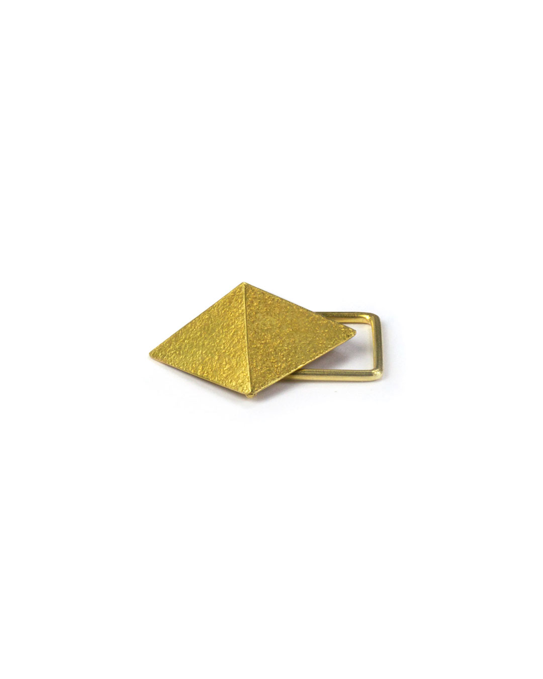 Okinari Kurokawa, untitled, 2007, ring; 20ct gold, stainless steel, 38 x 30 x 18 mm, €1350