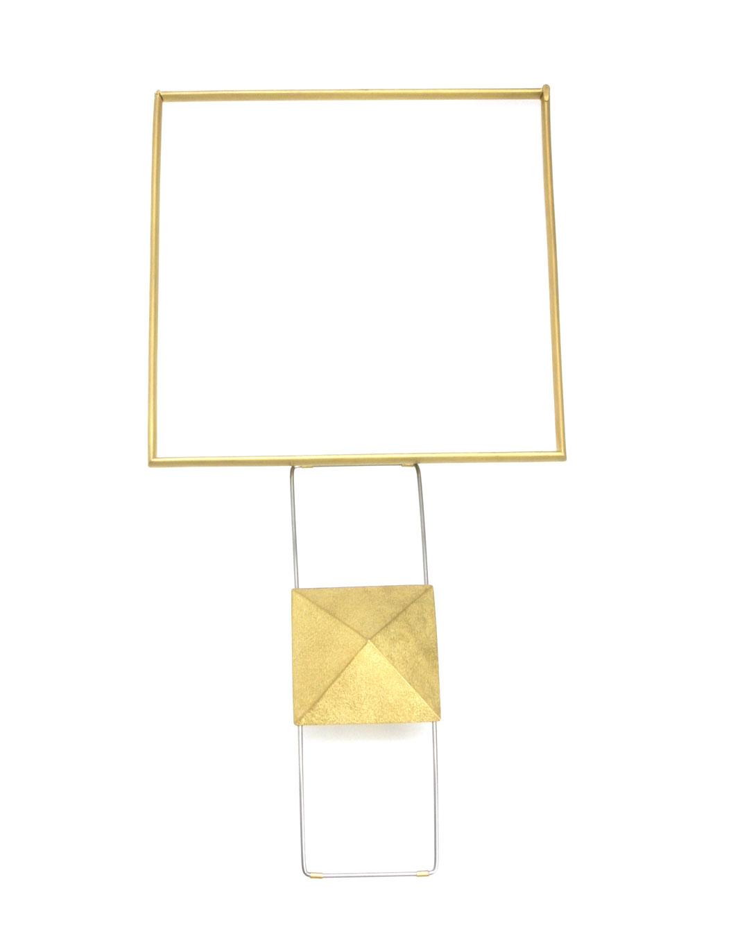Okinari Kurokawa, untitled, 2007, necklace; 20ct gold, stainless steel, 139 x 139 x 38 mm, €9700