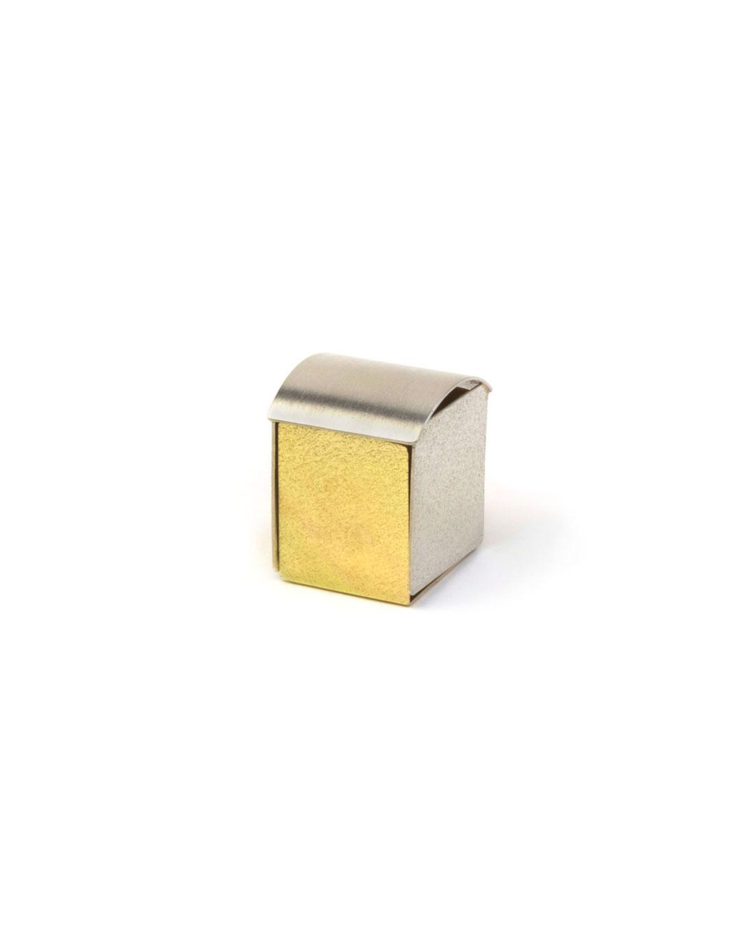 Okinari Kurokawa, untitled, 2008, ring; 970 silver, 835 gold, 23 x 20 x 18 mm, €1700