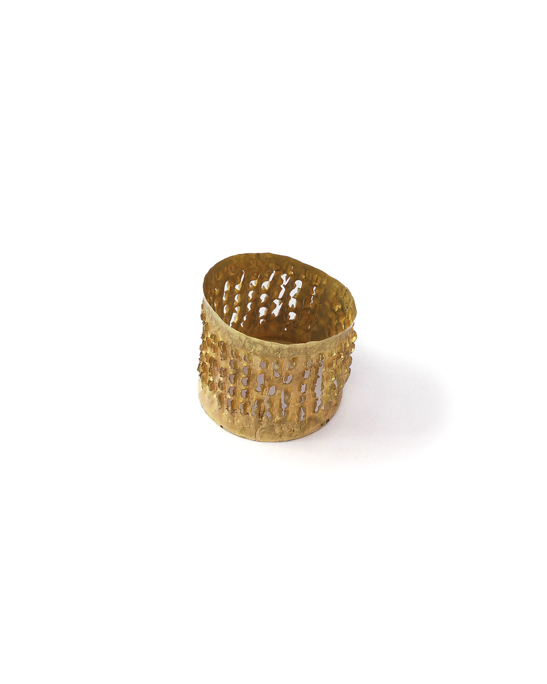 Stefano Marchetti, untitled, 2007, ring; gold, silver, 27 x 25 x 24 mm, €2500