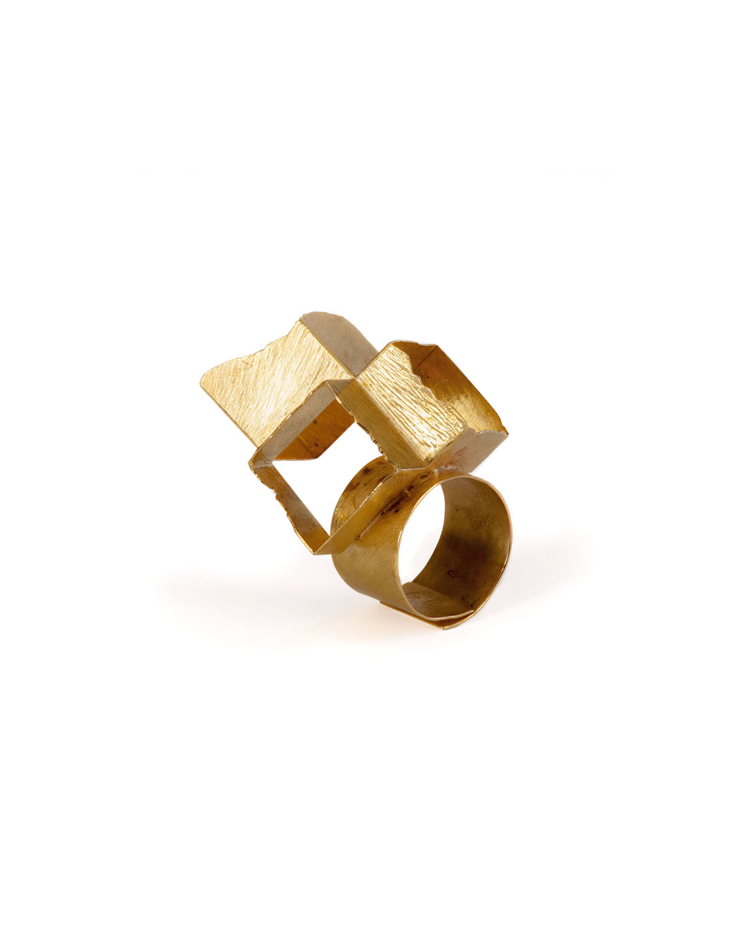 Stefano Marchetti, untitled, 2008, ring; gold, 50 x 30 x 30 mm, €3700