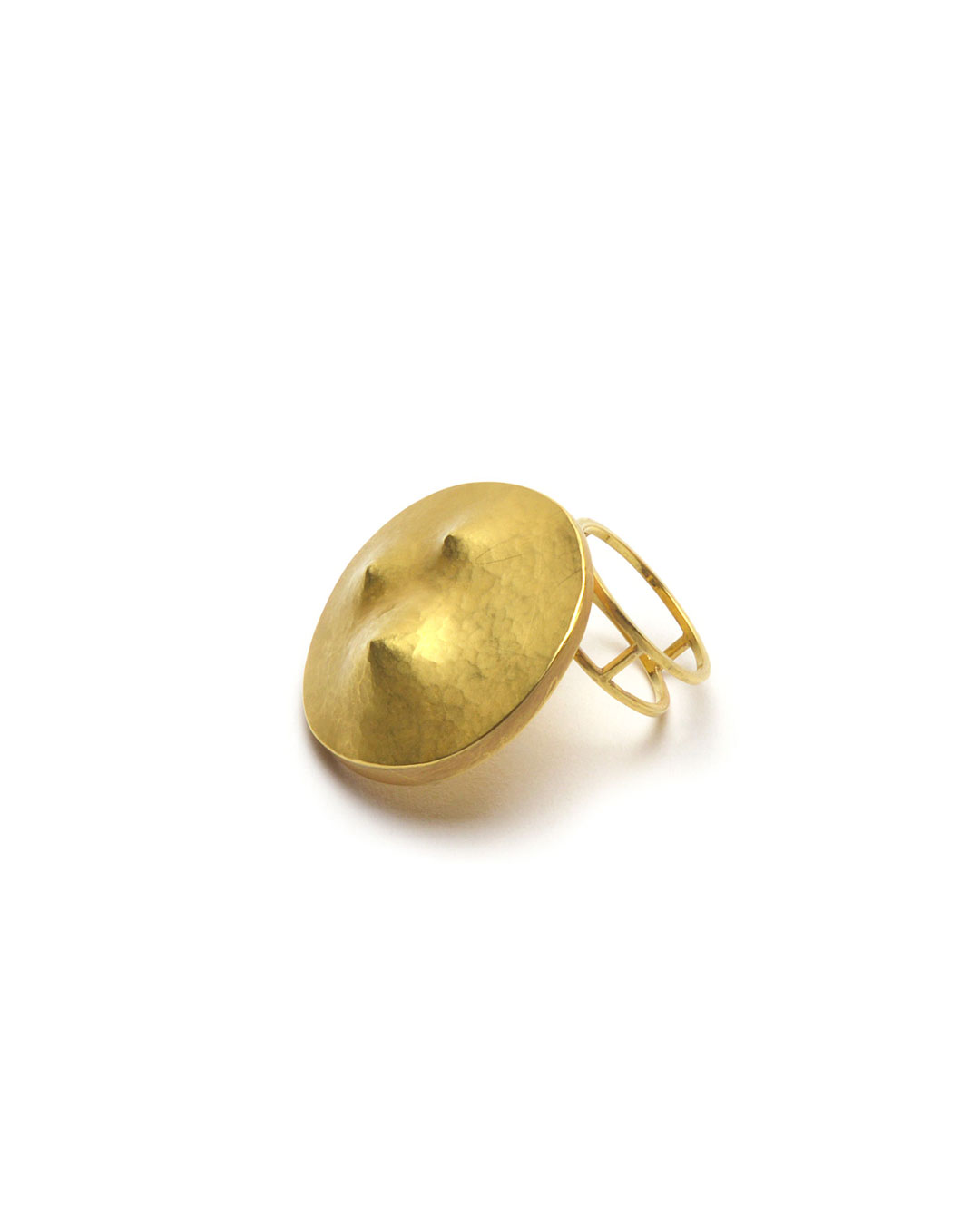 Stefano Marchetti, untitled, 2014, ring; gold, 27 x 32 x 31 mm, €3900
