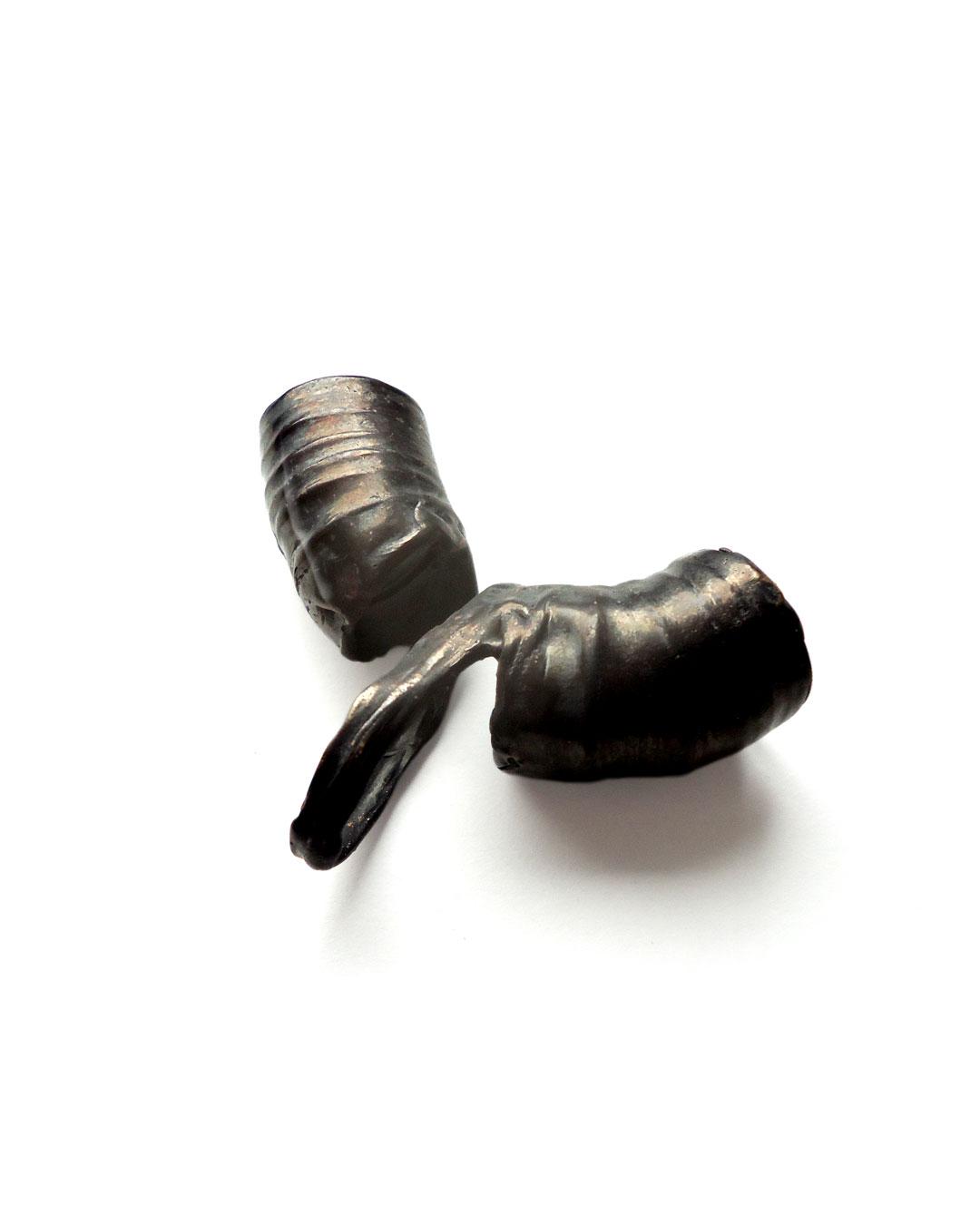 Dana Seachuga, Rebellious-Spring-Ring 5, 2015, ring; bronze, iron, 70 x 50 x 20 mm, €395